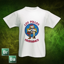 Remeras Con Diseños De Breaking Bad. Los Pollos Hermanos