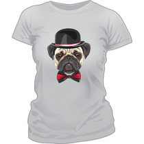 Remera Modal Estampada Sublimada Perro Bulldog Frances