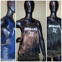 Musculosa Sudadera Batick Metallica Con Diseños- Verano 2016