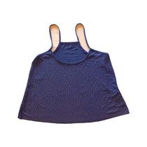 Musculosa Mujer Con Tachitas Azul Eléctrico - Envio Gratis