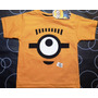 Remeras Disney Mickey Monster Minion Spiderman Cars Aviones