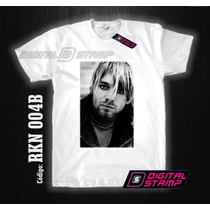 Remeras Nirvana Kurt Cobain 4 Estampado Digital Stamp Dtg