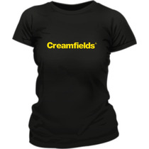 Remera Creamfields Estampada Ploteada Vinilo
