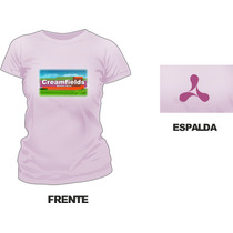 Remera Creamfields Estampada Sublimada 2014