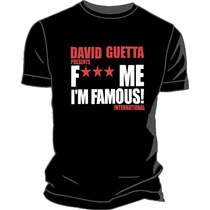 Remera David Guetta Estampada Vinilo Creamfields 2014