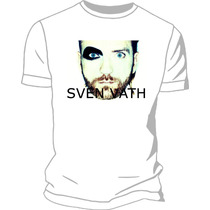 Remera Sven Vath Estampada Sublimada Creamfields 2014