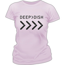 Remera Deep Dish Estampada Vinilo Creamfields 2014
