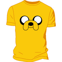 Remera Jake Hora De Aventura Estampada