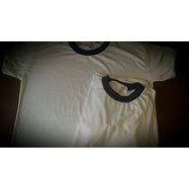 Remera Polyester Sublimar Cuello Rip Combinado