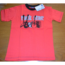 Remeras Rock Star Ely 3 Colores Talle 8 Little Treasure
