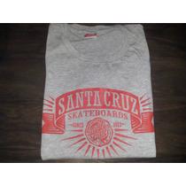 Remera Santa Cruz Original - Gris Xs - Precio Outlet 1º