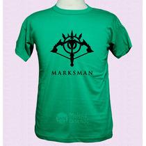 League Of Legends Lol Marksman Games Remeras Aplique Vinilo
