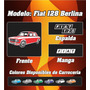 Remera Fiat 128 Berlina, 100% Algodon Ac Estampas