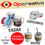 Taza Ceramica Estampada Personalizada Sublimada Logo Foto