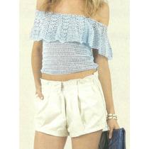 Tejidos Artesanales A Crochet: Top Sin Hombros