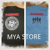 Remera Estampada The Ramones - Modelo Hombre Y Mujer -
