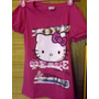 Remeras Hello Kitty Con Brillitos.hermosas!en Liquidación