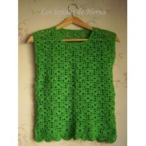 Musculosa En Crochet - Tejido Artesanal