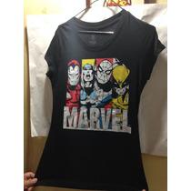 Remera Avengers Vengadores Marvel Original Importada Unica
