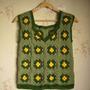 Musculosa/chaleco En Crochet - Tejido Artesanal