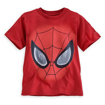 Remera Disney Store Spiderman Super Heroes Talle 4 Y 5/6