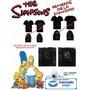 Remeras De Los Simpsons - La Dignidad! Talle Adultos!