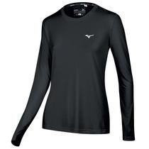 Remera Mizuno Running T-shirt Nirvana Ml Mujer (m413144290)