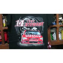 Remera Importada Nascar Chevrolet Tony Stewart Traida Usa