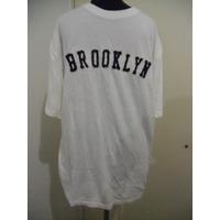 Remera Brooklyn Importada Cotton Y Viscose De Bambu Organic