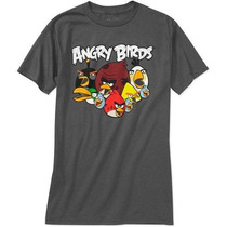 Remeras Angry Birds Originales Talle Xl Importadas Nuevas!