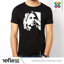 Remera Kurt Cobain Nirvana - 100% Algodón - Calidad Premium