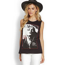 Blusa Musculosa Noche Forever 21 = Ay Not Dead 2015