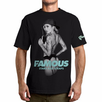 Remeras Famous - Talle Xl - Tattoo/rock/punk/auto/moto/surf