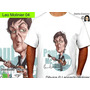 Paul Mccartney Beatles Caricaturas Remeras Leo Molinier