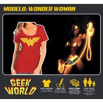 Remeras Superheroes! - Wonderwoman - Geekworld Rosario