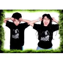 Remeras Ac Dc Angus Young Rock Para Niños Algodon Oferta