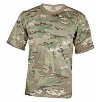 Remera Camiseta Camuflada Militar Multicam Ejercito
