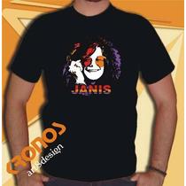 Remeras Janis Joplin Retro Vintage Blues Holding Company