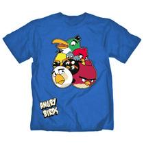 Remeras Angry Birds Nuevos Modelos