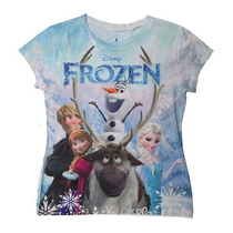 Frozen Remeras Disney Original