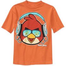 Remera Angry Birds Original Niño T 14/16 Años Importad Nueva