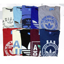 Pack 10 Remeras Hombre Adidas Originals