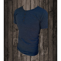 Remera Entallada / Slim Fit Tipo Chomba