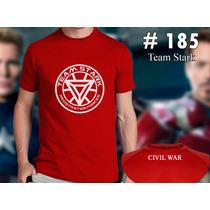 Team Stark- Civil War - Iron Man Marvel Comics