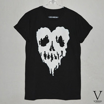 Remera Heart Drop Dead * Excelente * V *