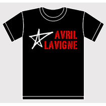 Remera Avril Lavigne Estampada