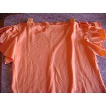 Remera Color Naranja Talle Xs