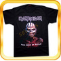 Remera De Iron Maiden The Book Of Souls- Rock - Metal