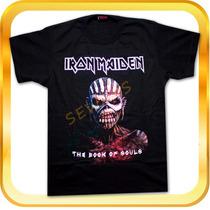 Remera De Iron Maiden The Book Of Souls- Rock - Metal