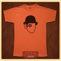Exoma Remeras Cine Naranja Mecánica Clockwork Orange